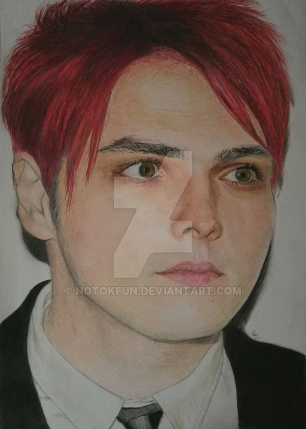 Gerard Way portrait by NotOKFun