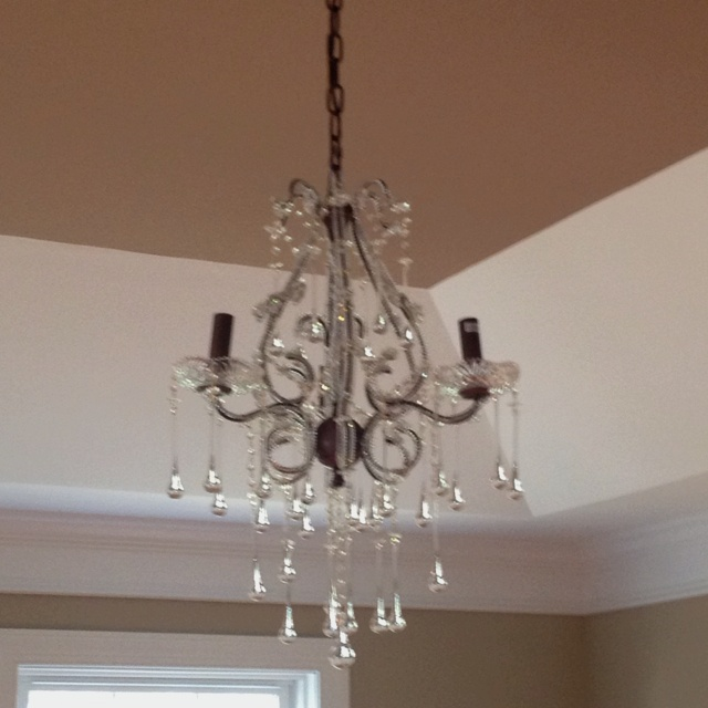 my chandelier for our master bedroom for the home pinterest