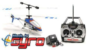 GYRO Metal Fire Fly 3.5CH Electric RTF Remote Control RC Helicopter (Color May Vary) by World Tech Toys. $45.00. L.E.D. Lights. Easy To Fly. 3.5 Channel Radio Control. Built In Gyroscope For Maximum Stability. Coaxial Rotor. The Brand New GYRO Metal Fire Fly 3.5CH Electric RTF RC Helicopter comes with the greatest advancement in Helicopter Technology, a GYRO. No more crashing, no more replacing parts, the GYRO has changed the Helicopter industry completely, making this RC ...