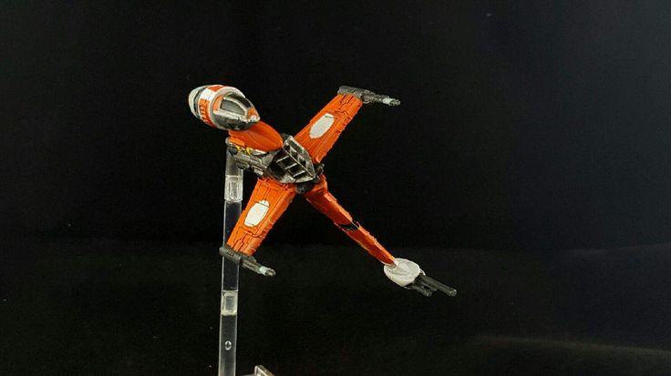 Star Wars Rebels prototype B-wing paint scheme.