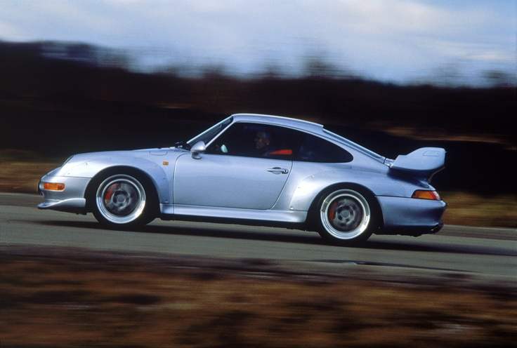 Captivating for the spectator. Thrilling for the driver.   The Porsche 911 GT2.
