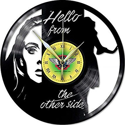 VINYL WALL CLOCK ADELE