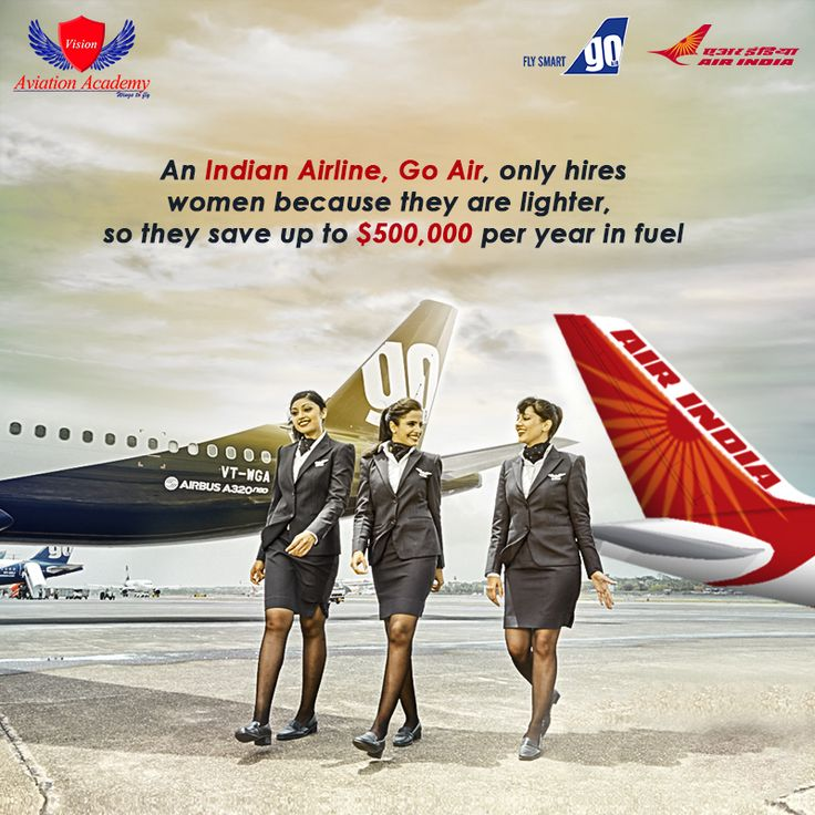 Why Air India & Go Air, Only Hires Womens ?  Want To Start Your Career In Aviation Industry? Call Us Today: 7090226999  #airlinefacts #India #airlines #factsandfigures #indianairlines #GoAir #airlinesfacts #interestingfacts