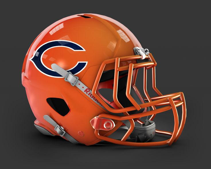 Chicago Bears Alt Color Scheme helmet