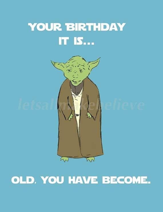 Yoda Birthday Meme - Funny Happy Birthday Meme