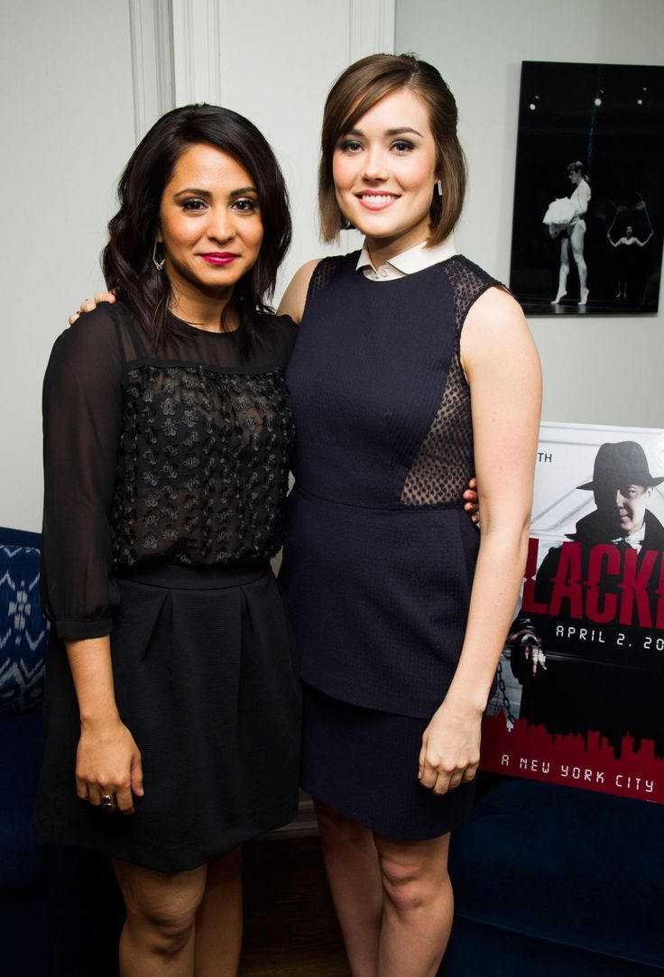 Megan Boone and Parminder Nagra