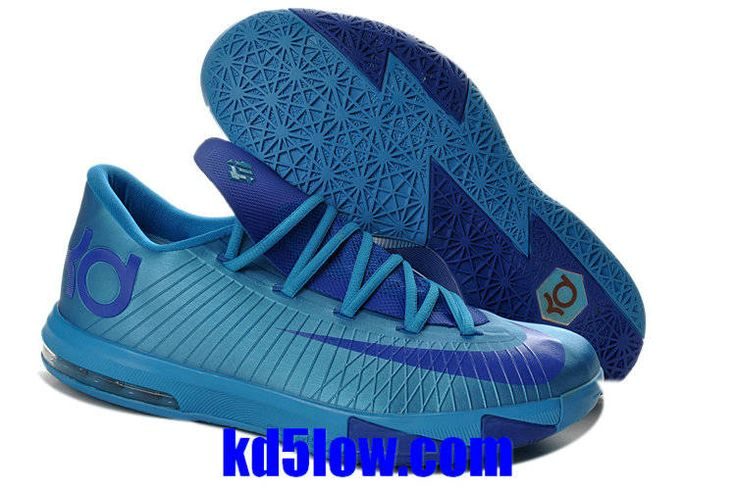 Nike KD 6 Blue Nay Red 599424-410 New Basketball Shoes