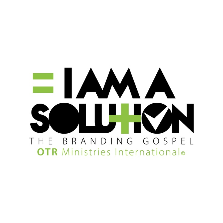 I AM SOLUTION --Logo for OTR Ministries