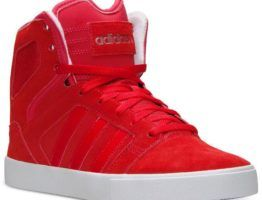 Adidas Shoes Red High Tops