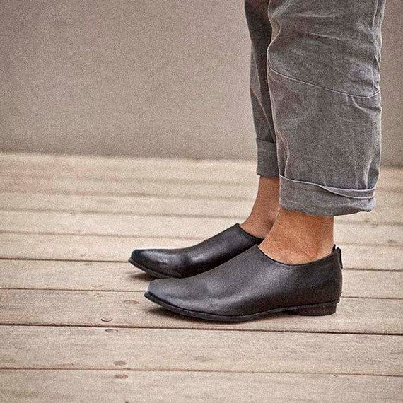 Sale20 OFF Italian leather shoes pointed toe by WalkByAnatDahari, $260.00
