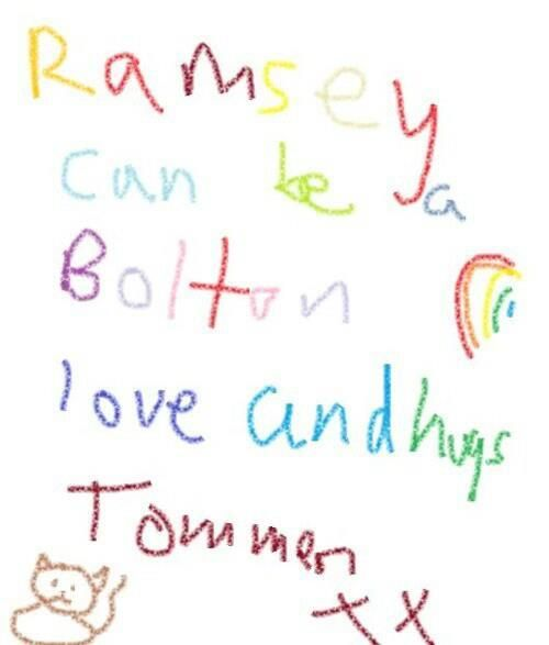 Tommen's legitimization letter for Ramsay Snow. This, ladies and gents, is what happens when your king is all of eight years old.