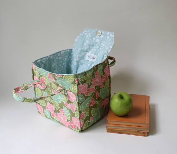 Insulated Lunch Bag in Summer Floral  Insulated Lunch Tote