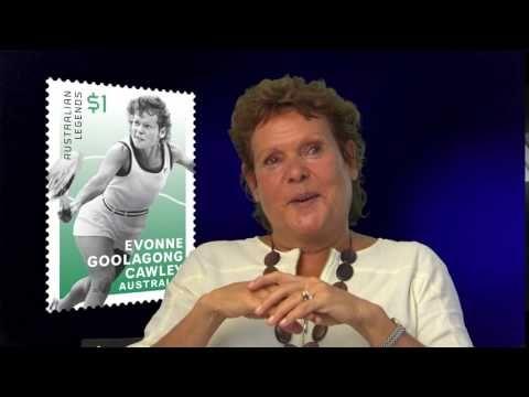 Evonne Goolagong Cawley AO MBE – Australia Post Legend 2016.  #AusPostLegends