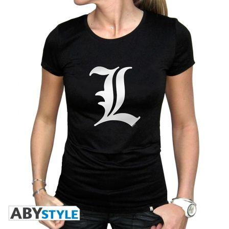 DEATH NOTE T-shirt Death Note L femme