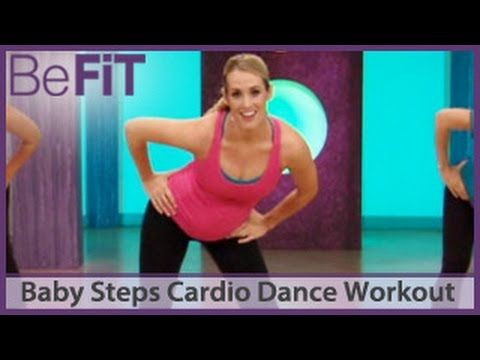 Baby Steps Cardio Dance Pregnancy Workout: What to Expect When You're Expecting- Heidi Murkoff - YouTube