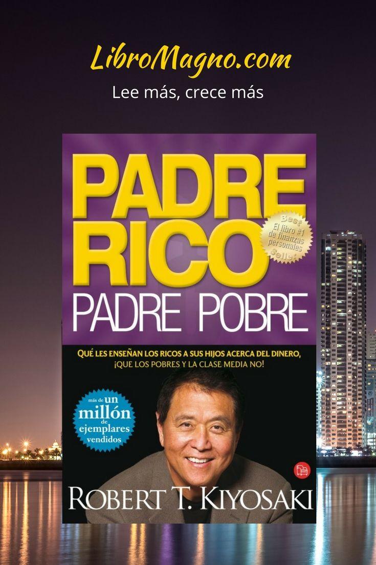 """#RecomiendoLeer """"Padre Rico, Padre Pobre"""" de Robert T. Kiyosaki  Qué les enseñan los ricos a sus hijos acerca del dinero, ¡que los pobres y la clase media no!  http://www.libromagno.com/2017/12/resena-padre-rico-padre-pobre-robert-t.html"""