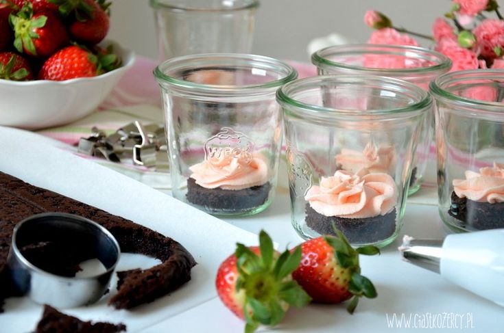 Ciasto w słoiku / Cake in a jar