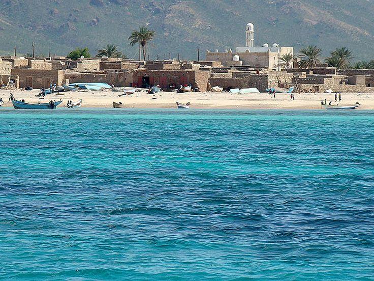 Остров счастья Сокотра  -  Йемен.