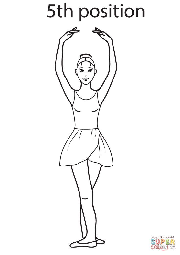 ballet coloring pages on hellokids - photo#46