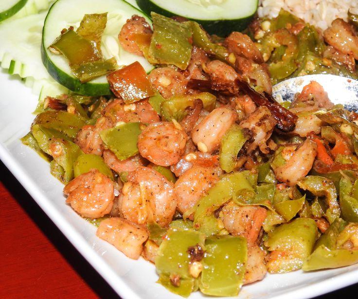 East meets southwest thaihatch pepper shrimp exsw 16