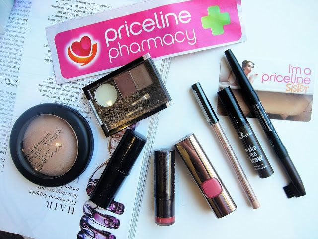 Australian Beauty on Budget: Priceline 40% off Cosmetics Haul