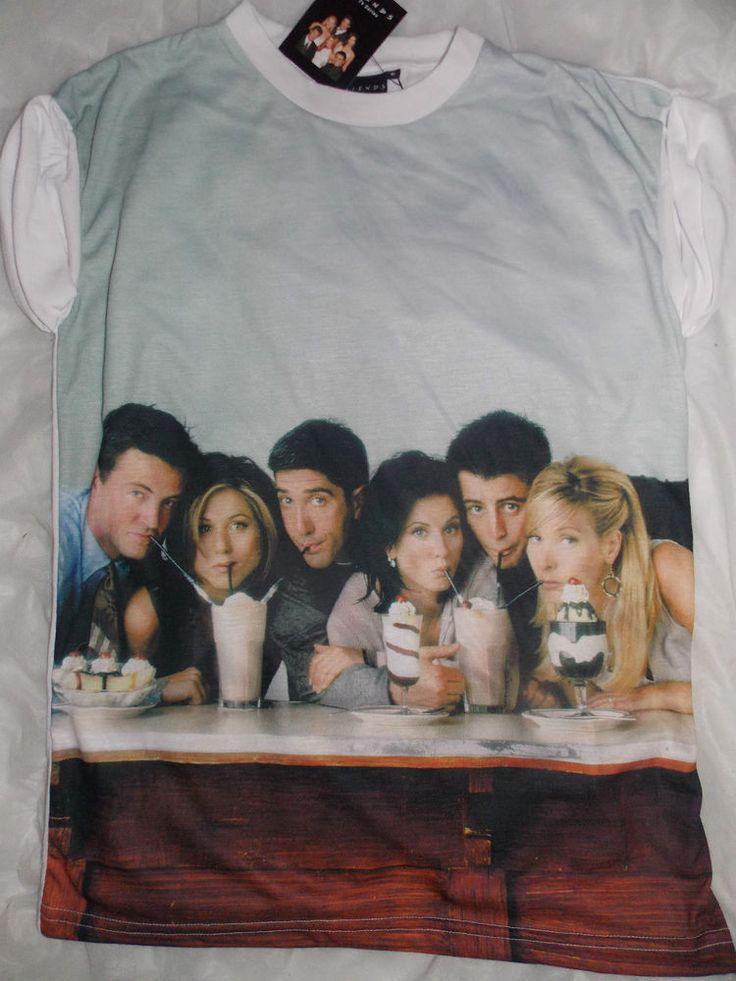 Ladies FRIENDS TV SHOW T Shirt  6-20 Primark