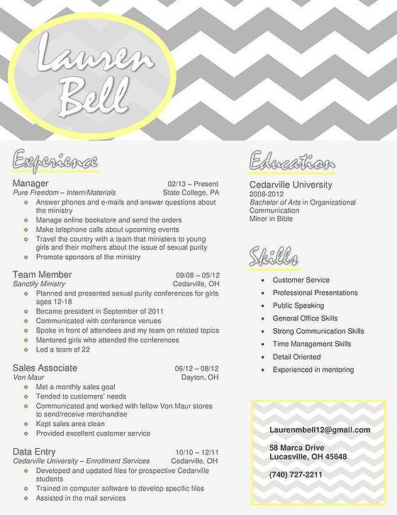 19 best Resume Time images on Pinterest Creative, Creativity and - updated resume