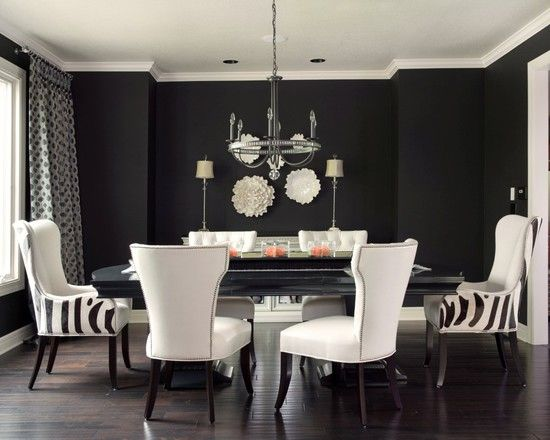 17 best BLACK CREAM AND SILVER DECOR images on Pinterest