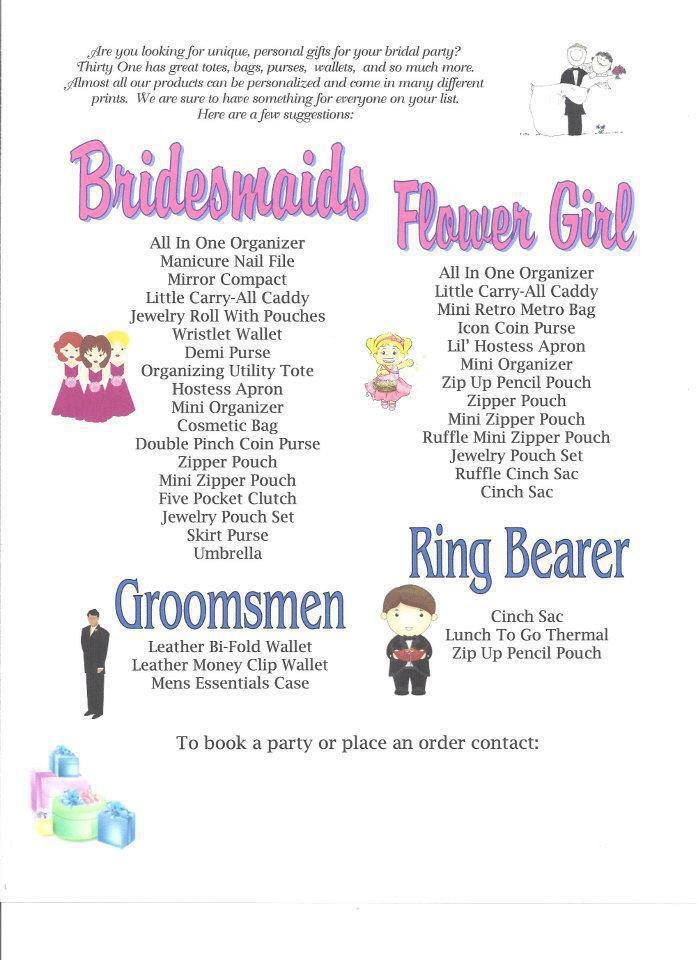 Bridal party gift ideas bridal ideas pinterest for Wedding party gifts ideas