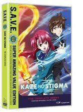 Kaze No Stigma:complete Series (save) 0704400083495 with Cherami Leigh, DVD, NEW