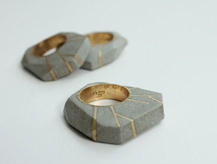 Yaara Itzhak concrete ring