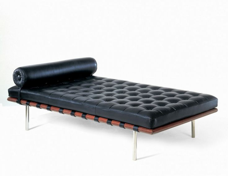 Barcelona Daybed © Knoll. by Ludwig Mies van der Rohe