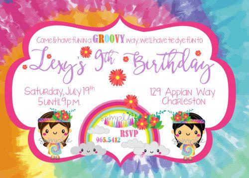 20 best TWEENS TEENAGE GIRL Birthday Party Invitations images on