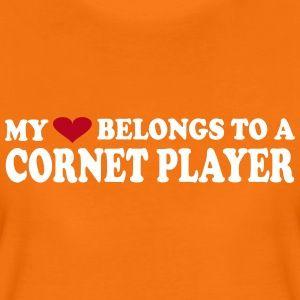 My heart belongs to a cornet player.