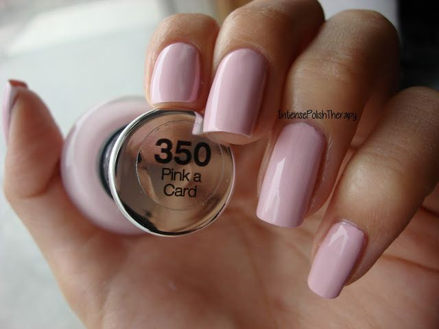 Sally Hansen Complete Salon Manicure Pink a Card-best drugstore polish I've ever used!