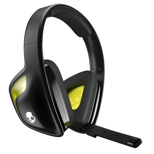 Skullcandy Slyr Gaming Headset, Black/Yellow (Smslfy-207), 2015 Amazon Top Rated Headsets #VideoGames