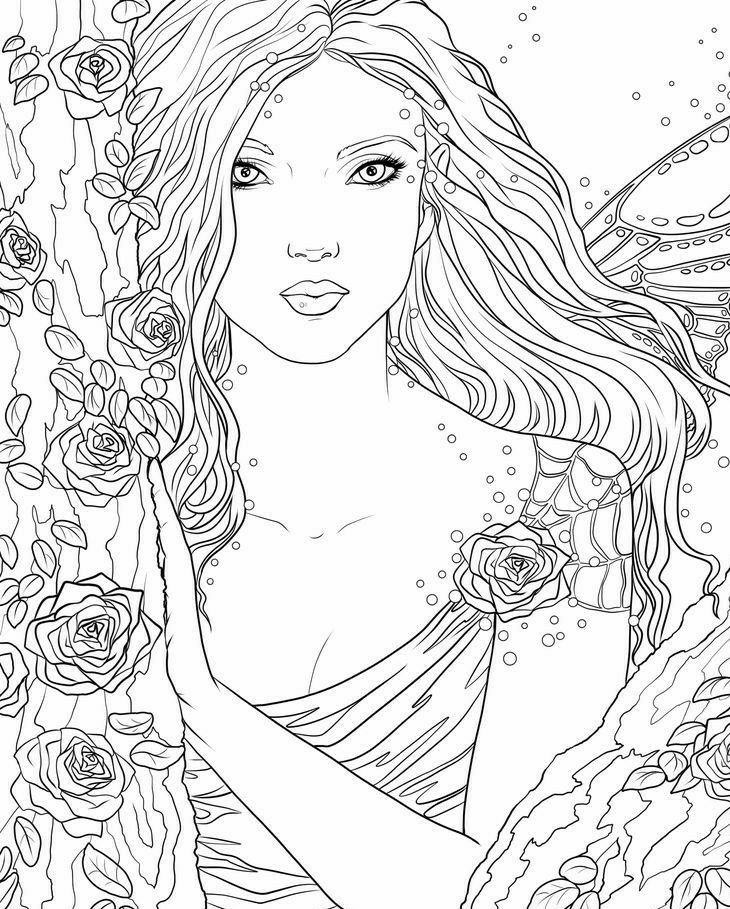 pinluicfer on draw  fairy coloring pages fairy