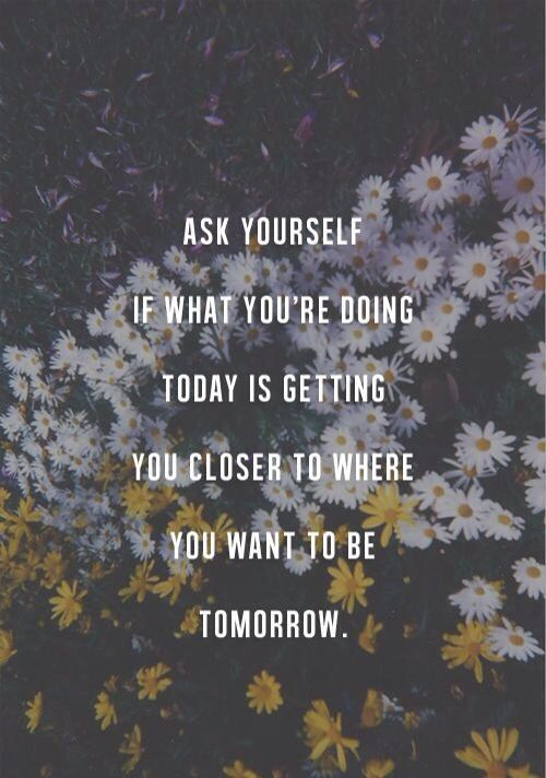 ask yourself.