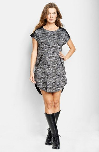 Maternal America Zipper Maternity Dress available at #Nordstrom