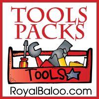 Tool themed free preschool learning printables