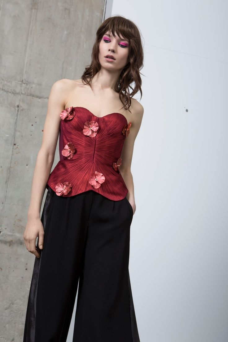 FLORA top + MIRI pants