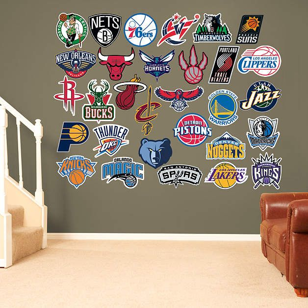 Najarian Nba Youth Bedroom In A Box: Best 25+ Nba Man Cave Ideas Ideas On Pinterest