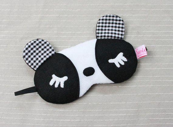 Sleeping Eye Mask - Kawaii Panda Girl