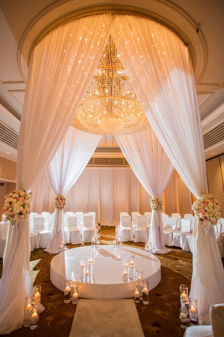 A romantic setting for exchanging vows.