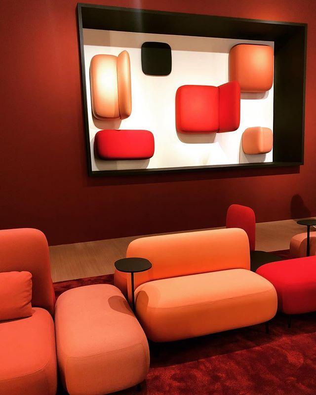 """cheaper b6742 67b0b Classifica delle cose belle di colore  tangerinetango che ci hanno colpito  al Salone del Mobile 2018. Ecco """"Buddy"""" by Pedrali …   Milan Design Weekend  in ..."""