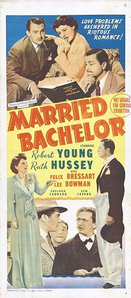 Robert Young, Ruth Hussey, and Sam Levene in Married Bachelor (1941)