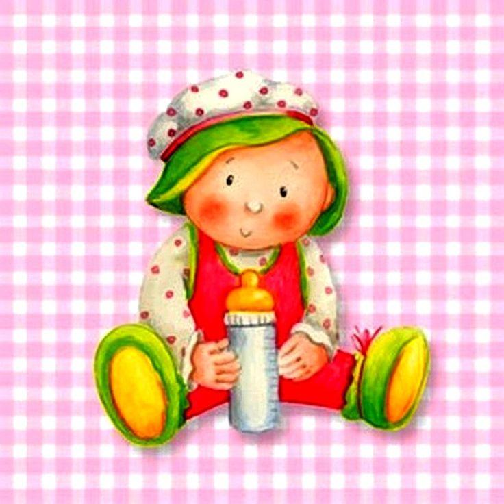 Бумажные полотенца для детской бутылочки с фоном плед розовый и белый
