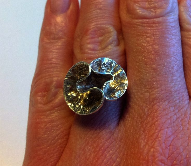 Silver ring, Theresia Hvorslev, MEMA, Swden 1977.