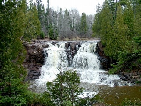 Minnesota North Shore Waterfall