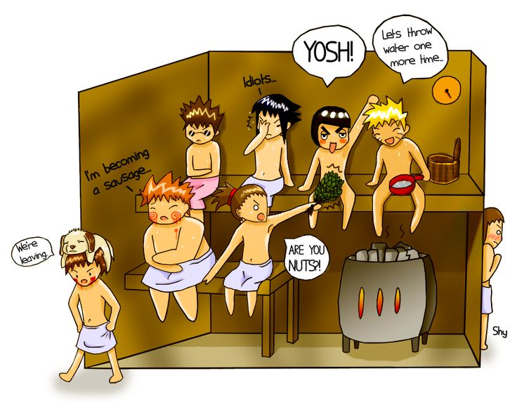 Boys in a sauna by Nohhuh.deviantart.com on @deviantART